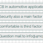 Top 3 factors when design PCB in automotive