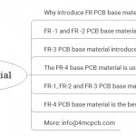 FR-4 PCB base material is the best option for conventional PCB board