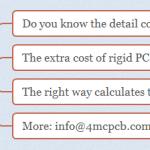 Comparing Rigid flex PCB and rigid PCB cost in all assembly process