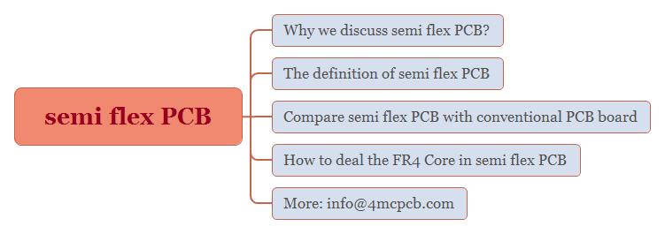 semi flex PCB