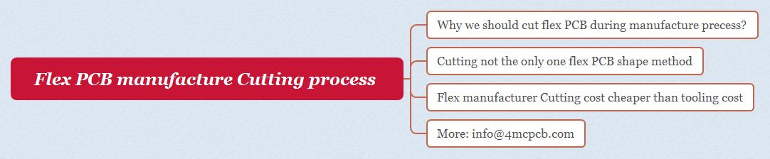 Flex PCB manufacture Cutting process