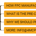 Pre-clean FPC manufacture process introduce