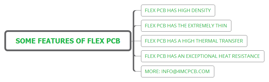 some features of flex PCB