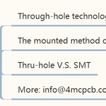 Do you know Through-hole technology?