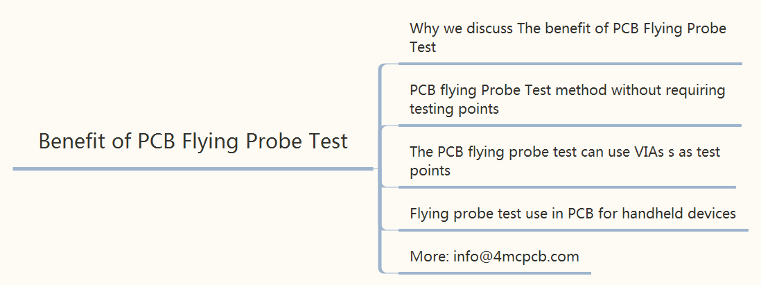 The benefit of PCB Flying Probe Test