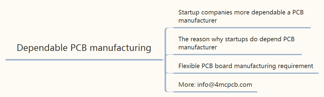 Why Startup companies more dependable a PCB manufacturer?