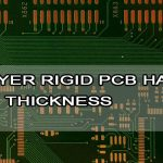 Differ layer rigid PCB have differing thickness
