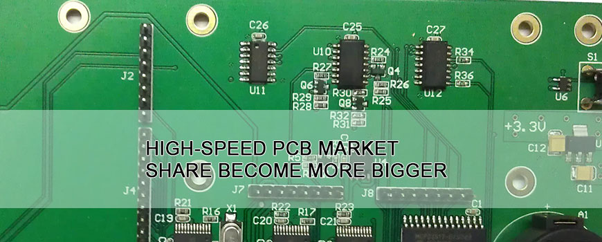 High-speed PCB market share become more bigger